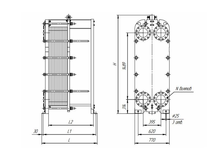 Пластинчатый теплообменник steam Пластинчатый теплообменник Thermowave TL-400 Канск